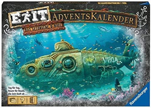 Exit Game das gesunkene U-Boot