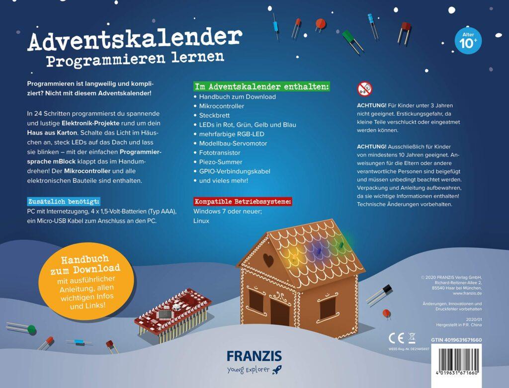 Der FRANZIS Adventskalender