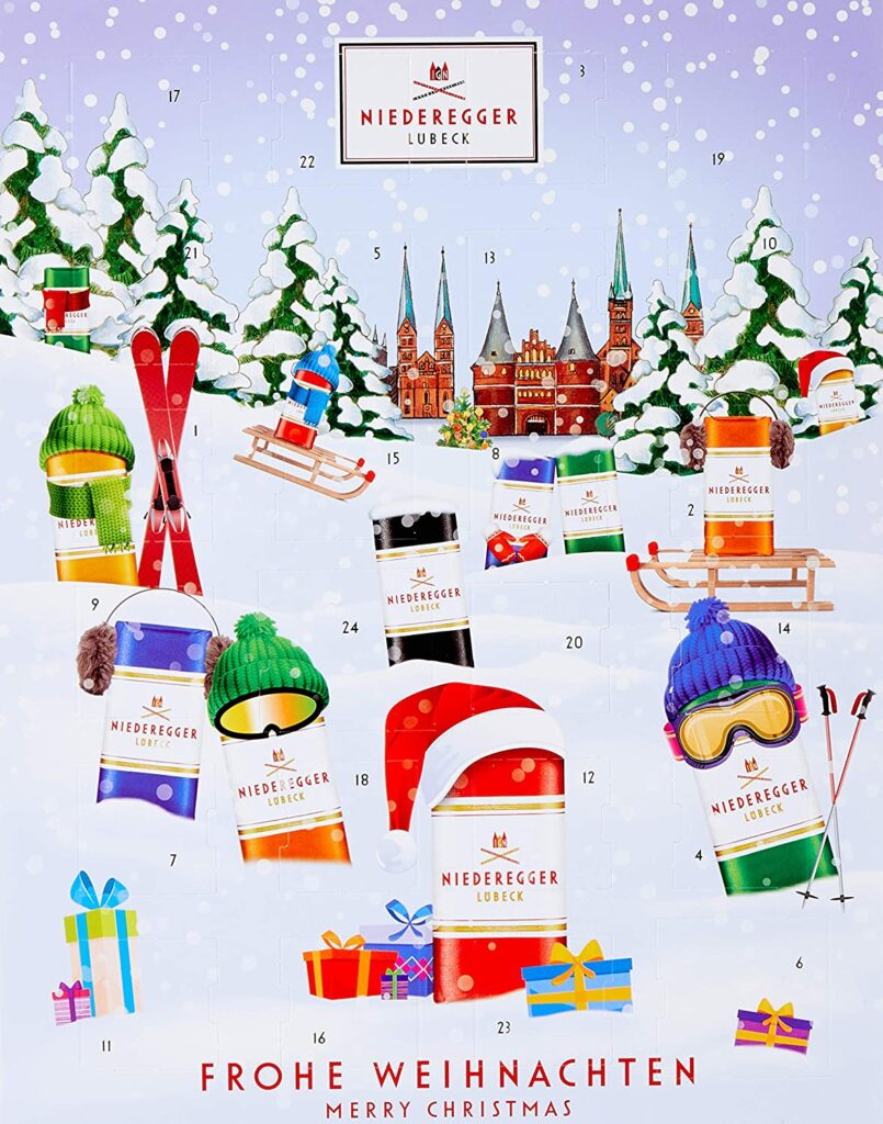 Niederegger Marzipan Adventskalender