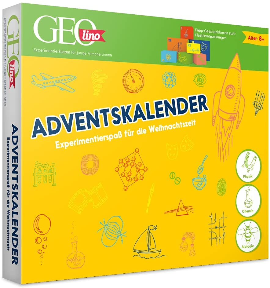 GEOlino Adventskalender Forschung