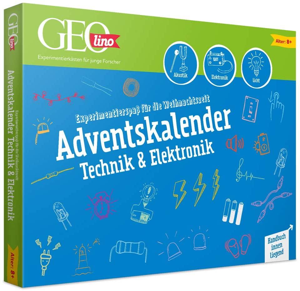 GEOlino Adventskalender Technik und Elektronik